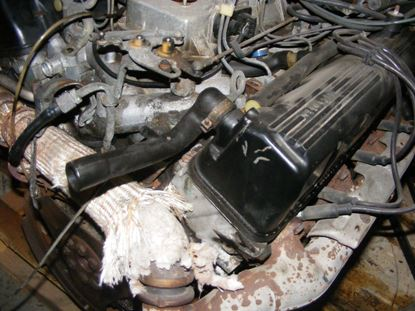 Picture of Mercedes 560SEL 86-91 engine