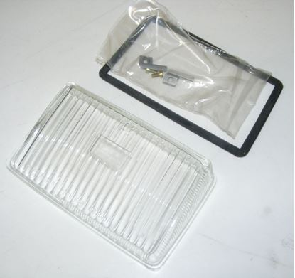 Picture of Porsche 928 fog llight lens, 92863192501
