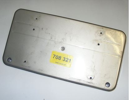 Picture of license plate bracket, 2028850881