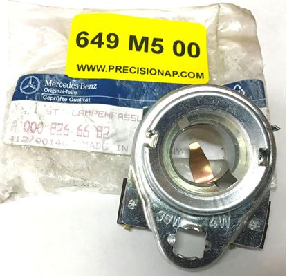 Picture of Mercedes bulb socket 0009266682