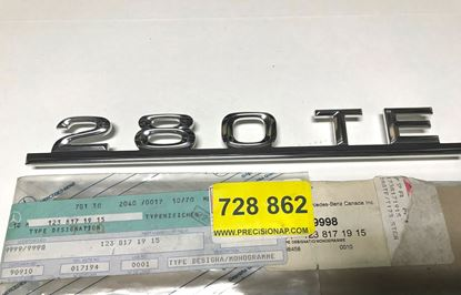 Picture of MERCEDES MODEL SIGN 280TE 1238171915