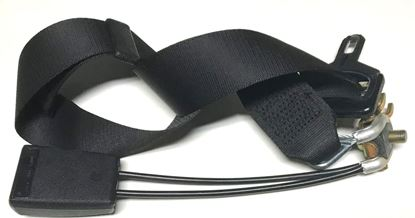 Picture of Mercedes W126 seat belt 1268602086