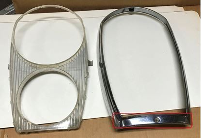 Picture of Merceds 600 headlight door 1008260589 SOLD